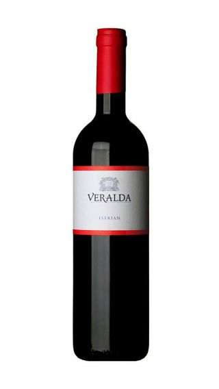 Bottle of Veralda Istrian 2015 wine 750 ml
