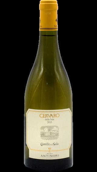 Bottle of Antinori Cervaro della Sala 2015 wine 750 ml