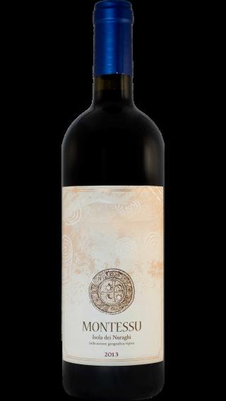 Bottle of Agricola Punica Isola Dei Nuarghi Montessu 2013 wine 750 ml