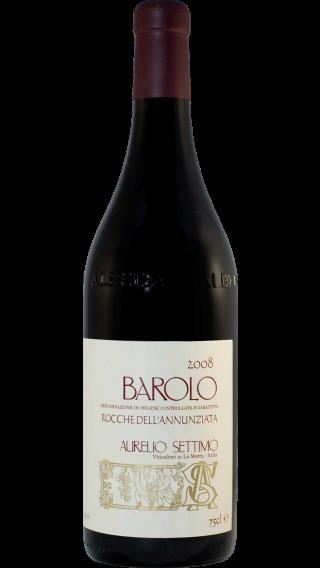 Bottle of Aurelio Settimo Barolo Rocche dell'Annunziata 2008 wine 750 ml