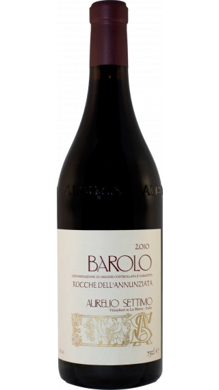 Bottle of Aurelio Settimo Barolo Rocche dell'Annunziata 2011 wine 750 ml