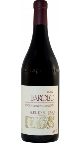 Bottle of Aurelio Settimo Barolo Rocche dell'Annunziata 2009 wine 750 ml