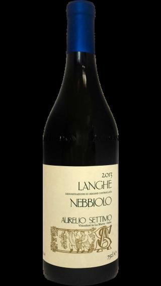 Bottle of Aurelio Settimo Langhe Nebbiolo 2013 wine 750 ml