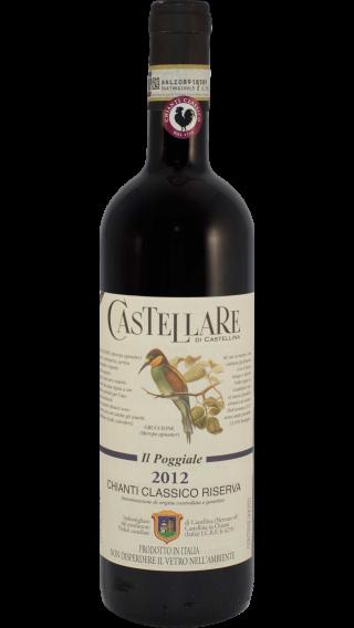 Bottle of Castellare di Castellina Chianti Classico Riserva Il Poggiale 2012 wine 750 ml