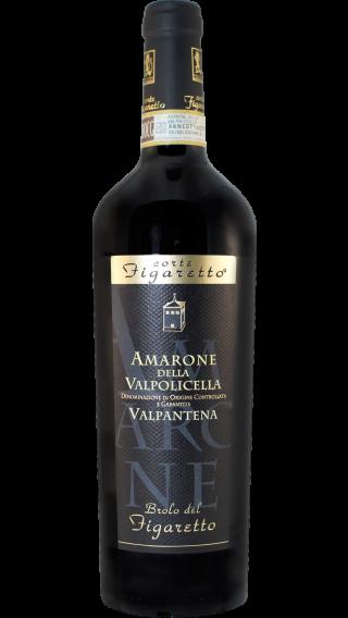 Bottle of Corte Figaretto Amarone della Valpolicella Valpantena 2012 wine 750 ml