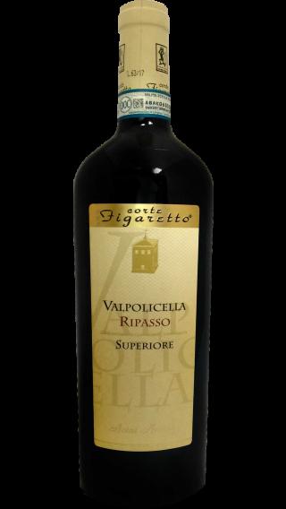 Bottle of Corte Figaretto Valpolicella Ripasso Valpantena Superiore 2017 wine 750 ml