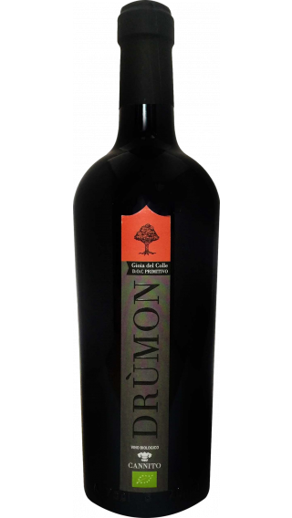 Bottle of Cannito Drumon 2013  wine 750 ml