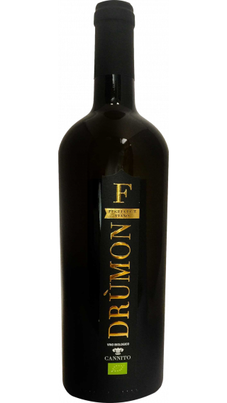 Bottle of Cannito Drumon Fiano 2016  wine 750 ml