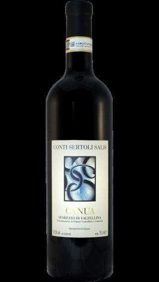 Bottle of Conti Sertoli Salis Canua Sforzato di Valtellina 2009 wine 750 ml