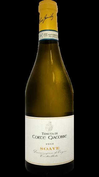 Bottle of Dal Cero Corte Giacobbe Soave 2016 wine 750 ml