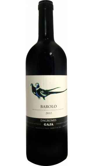 Bottle of Gaja Dagromis Barolo 2012 wine 750 ml