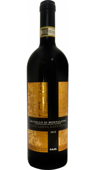 Bottle of Gaja Pieve Santa Restituta Brunello di Montalcino 2013 wine 750 ml