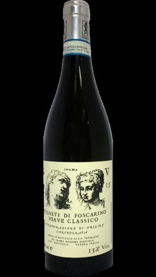 Bottle of Inama Vigneti di Foscarino Soave Classico 2015 wine 750 ml