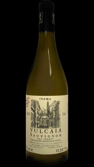 Bottle of Inama Vulcaia Sauvignon 2016 wine 750 ml