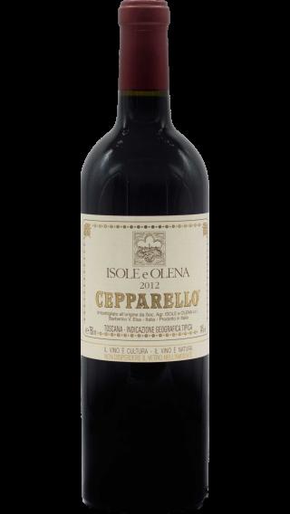 Bottle of Isole e Olena Cepparello 2012 wine 750 ml