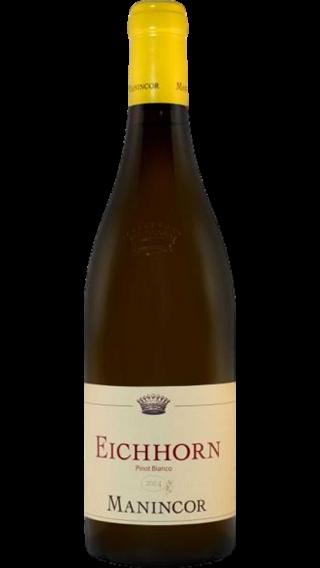 Bottle of Manincor Eichhorn Pinot Bianco 2014  wine 750 ml