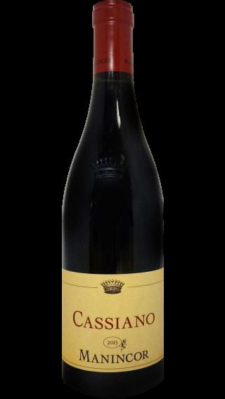 Bottle of Manincor Cassiano 2015  wine 750 ml