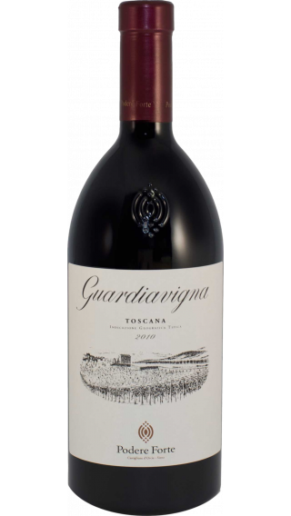 Bottle of Podere Forte Guardiavigna 2010 wine 750 ml