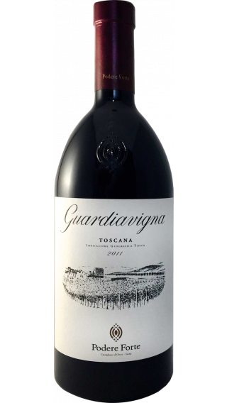 Bottle of Podere Forte Guardiavigna 2011 wine 750 ml