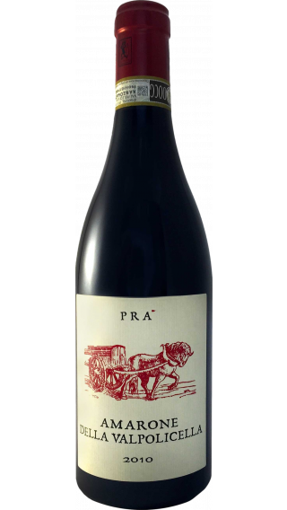 Bottle of Pra Amarone Della Valpolicella 2011 wine 750 ml