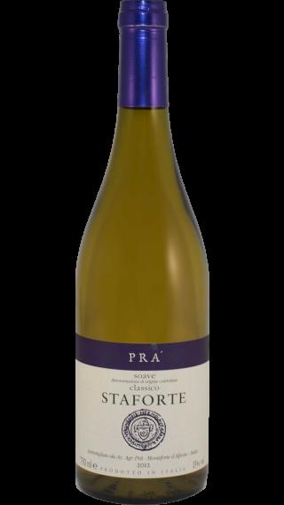 Bottle of Pra Soave Classico Staforte 2012 wine 750 ml