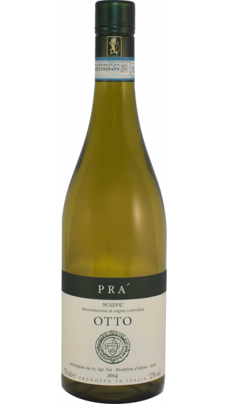Bottle of Pra Soave Classico Otto 2015 wine 750 ml