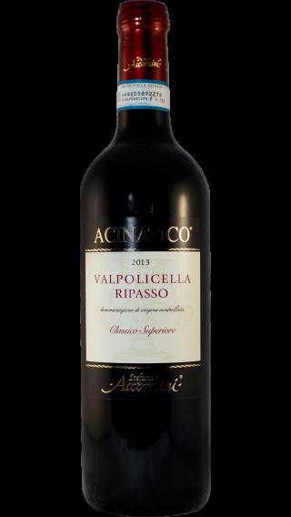 Bottle of Stefano Accordini Valpolicella Ripasso Acinatico Classico Superiore 2013 wine 750 ml