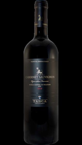 Bottle of Tasca d Almerita Tenuta Regaleali Cabernet Sauvignon 2012 wine 750 ml