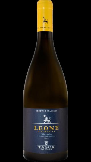 Bottle of Tasca d Almerita Tenuta Regaleali Leone d'Almerita 2015 wine 750 ml