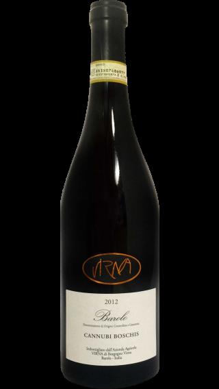 Bottle of Virna Barolo Cannubi Boschis 2012 wine 750 ml