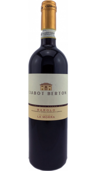 Bottle of Ciabot Berton Barolo La Morra 2014 wine 750 ml