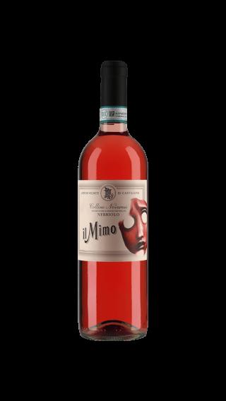 Bottle of Cantalupo il Mimo Nebbiolo Rosato 2017 wine 750 ml