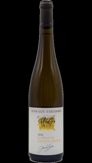 Bottle of Jean-Luc Colombo Cotes Du Rhone La Redonne 2016 wine 750 ml
