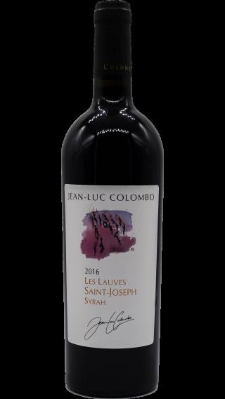 Bottle of Jean-Luc Colombo Saint Joseph Les Lauves 2016 wine 750 ml