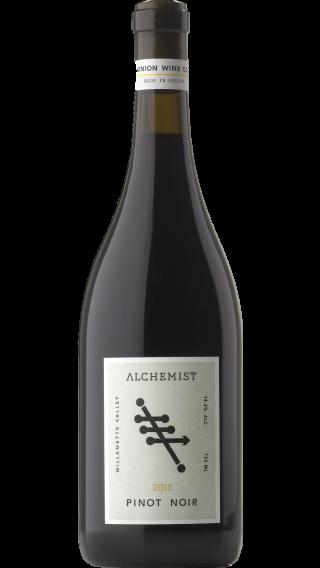 Bottle of Alchemist  Pinot Noir 2017 wine 750 ml