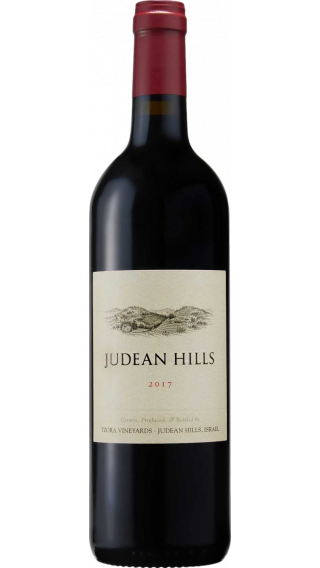 Bottle of Tzora Judean Hills 2018 wine 750 ml