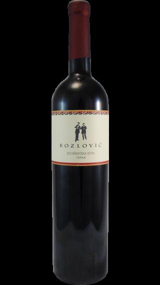 Bottle of Kozlovic Teran 2017 wine 750 ml