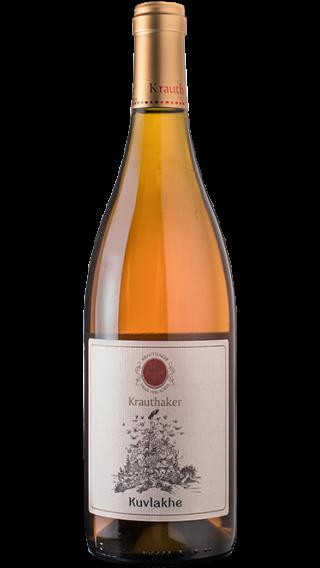 Bottle of Krauthaker Kuvlakhe Grasevina 2015 wine 750 ml