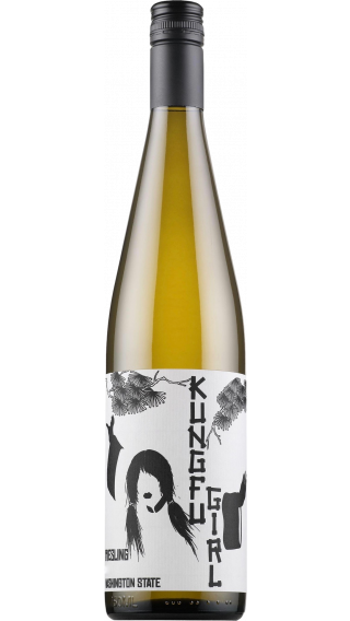 Bottle of Charles Smith Kung Fu Girl Riesling 2016 wine 750 ml