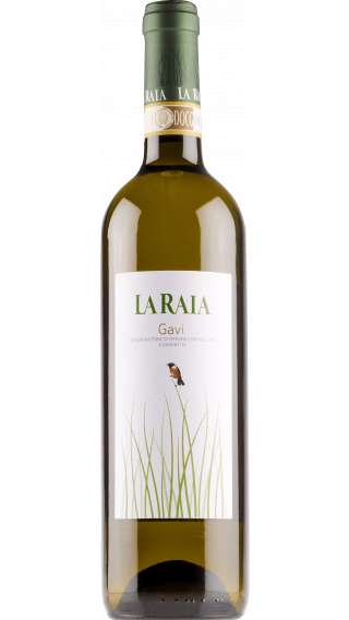 Bottle of La Raia Gavi 2019 wine 750 ml