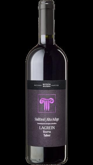 Bottle of Kellerei Bozen Lagrein Riserva Taber 2016 wine 750 ml