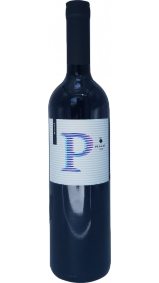 Bottle of Milos Plavac 2017 wine 750 ml