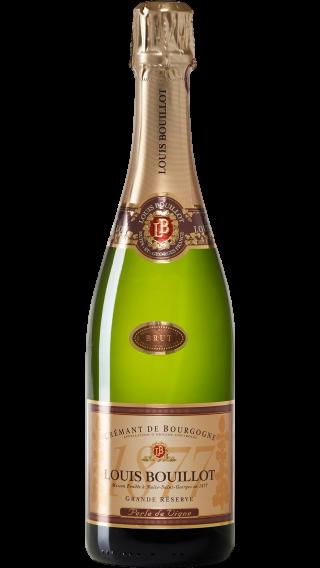Bottle of Louis Bouillot Perle de Vigne Cremant de Bourgogne wine 750 ml