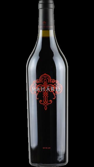 Bottle of Feudo Maccari Maharis 2017 wine 750 ml