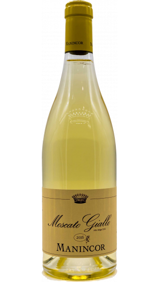 Bottle of Manincor Moscato Giallo 2016 wine 750 ml