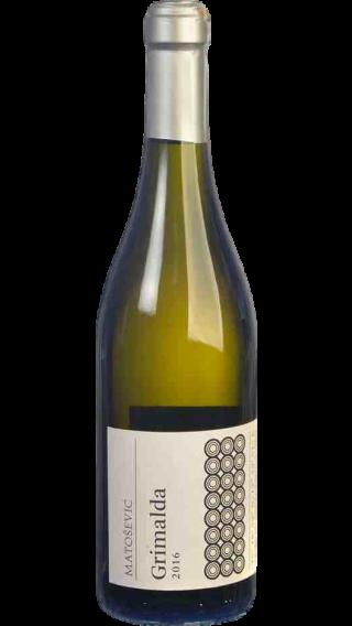 Bottle of Matosevic Grimalda White 2016 wine 750 ml