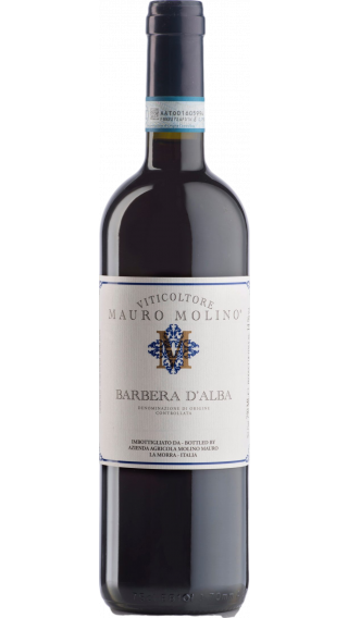 Bottle of Mauro Molino Barbera D'Alba 2017 wine 750 ml