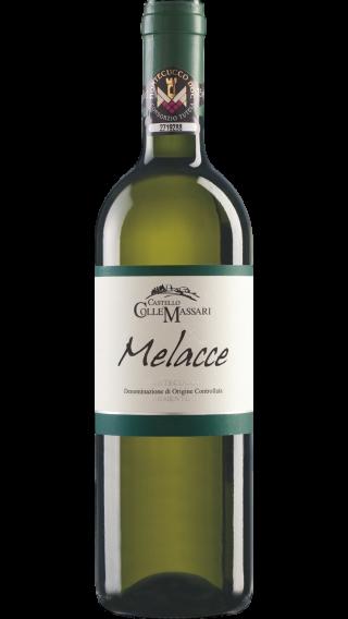 Bottle of ColleMassari Melacce Vermentino 2018 wine 750 ml