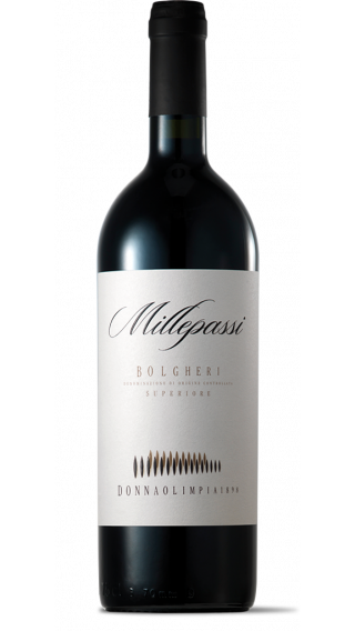 Bottle of Donna Olimpia Millepassi Bolgheri Superiori 2015 wine 750 ml