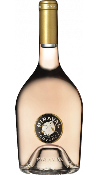 Bottle of Chateau Miraval Rose 2018 wine 750 ml